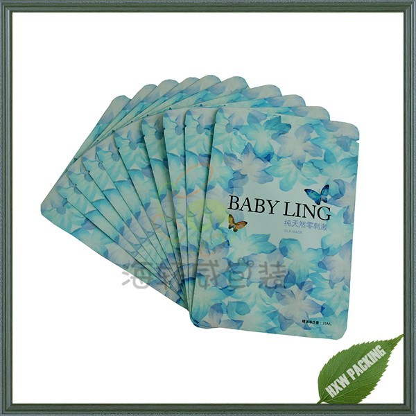 cosmetic packing printing plastik bag