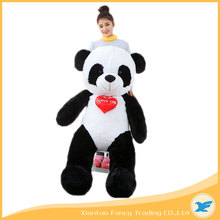 valentines day gifts huge stuffed soft plush panda bear toy for girl friend 160cm