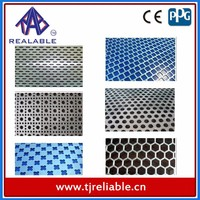 Aluminium Perforated Metal Mesh Panels/Decorative Aluminum Fence Panels/Grill Expanded Metal Sheet