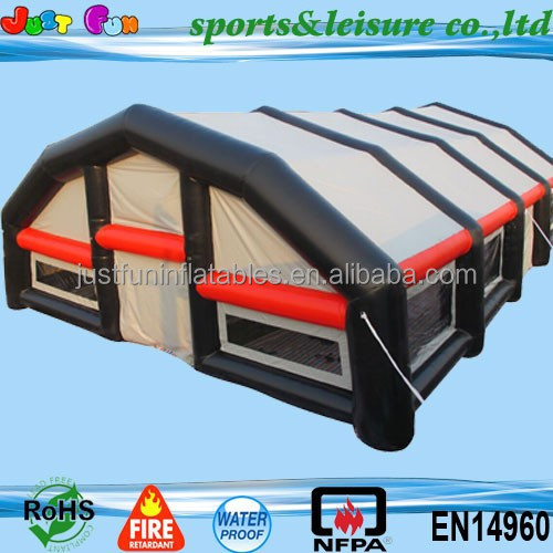 customized inflatable tennis court cover tent, mega inflatable tents price for sale