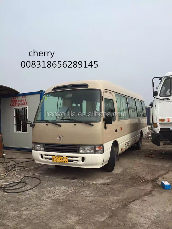 TOYOTA COASTER BUS 30 SEATS FOR SALE
