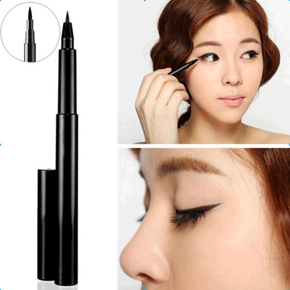 wholesale Hot Selling Makeup Waterproof Black Liquid Eyeliner Pen for Eyes.Brand New Eye Liner. 100% TOP Quality