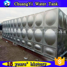 Chuangyi SS316 Water Storage Tank 20000 Liter for Irrigation/Farming/Industry ISO9001