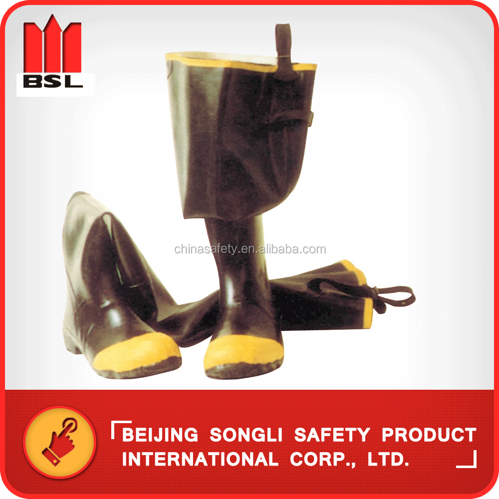 China Hot selling SLS-R006 Rubber rain boots