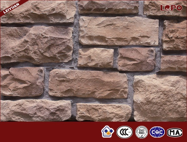 China Manufacturer Coral Artificial Stacked Stone