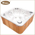 China Supplies Wholesale Balboa spa outdoor acrylic whirlpool hot tub with seats