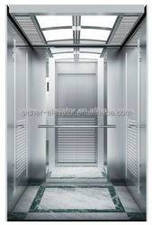 SRH Passanger Elevator with Hairline stainless steel cabin