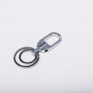 High quality metal keyring car keychain