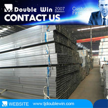hot dip galvanized q345 steel square pipe properties