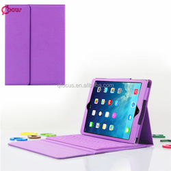 Cheapeat price Bluetooth Wireless Keyboard With Leather Case Stand Cover For ipad mini 1 2 3