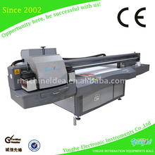 Heat transfer film with double side coating foam board uv printer with led uv lamp