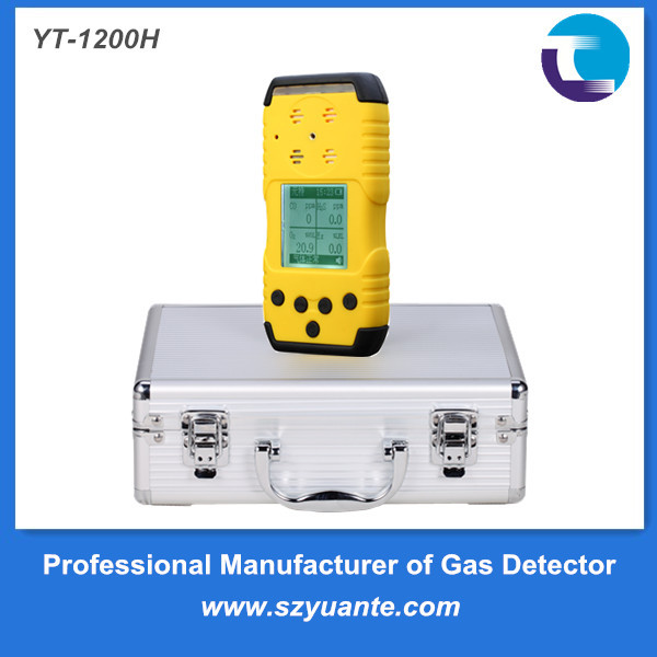 Portable LCD display diffusion type C2H4 ethylene analyzer