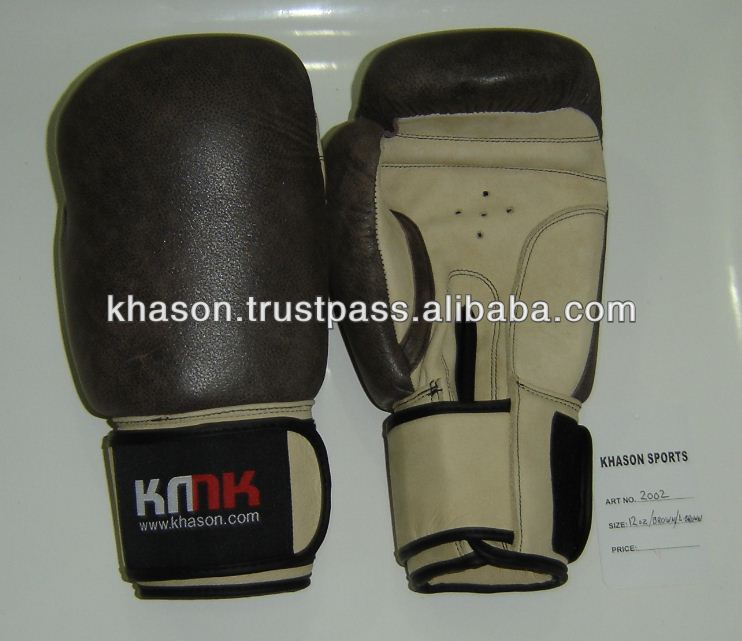 High Quality Genuine Cowhide LeatherBoxing Gloves