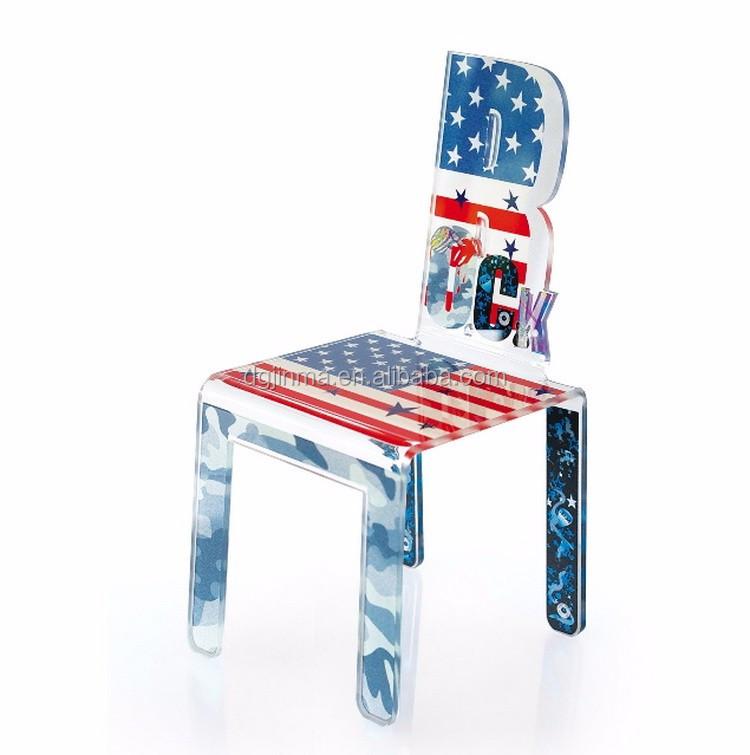 De lujo de diseño moderno silla de acrílico, silla de acrílico ...