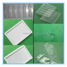PVC/PET/PS/PE/pp Blister packaging vacuum thermoforming Plastic packing box