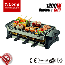 electric stainless steel teppanyaki plate grill design