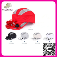 2016 Latest Arrival Summer Hats Wholesale solar powered baseball cap with fan