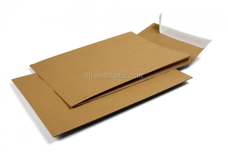 Chipboard board expand gusset envelope mailer