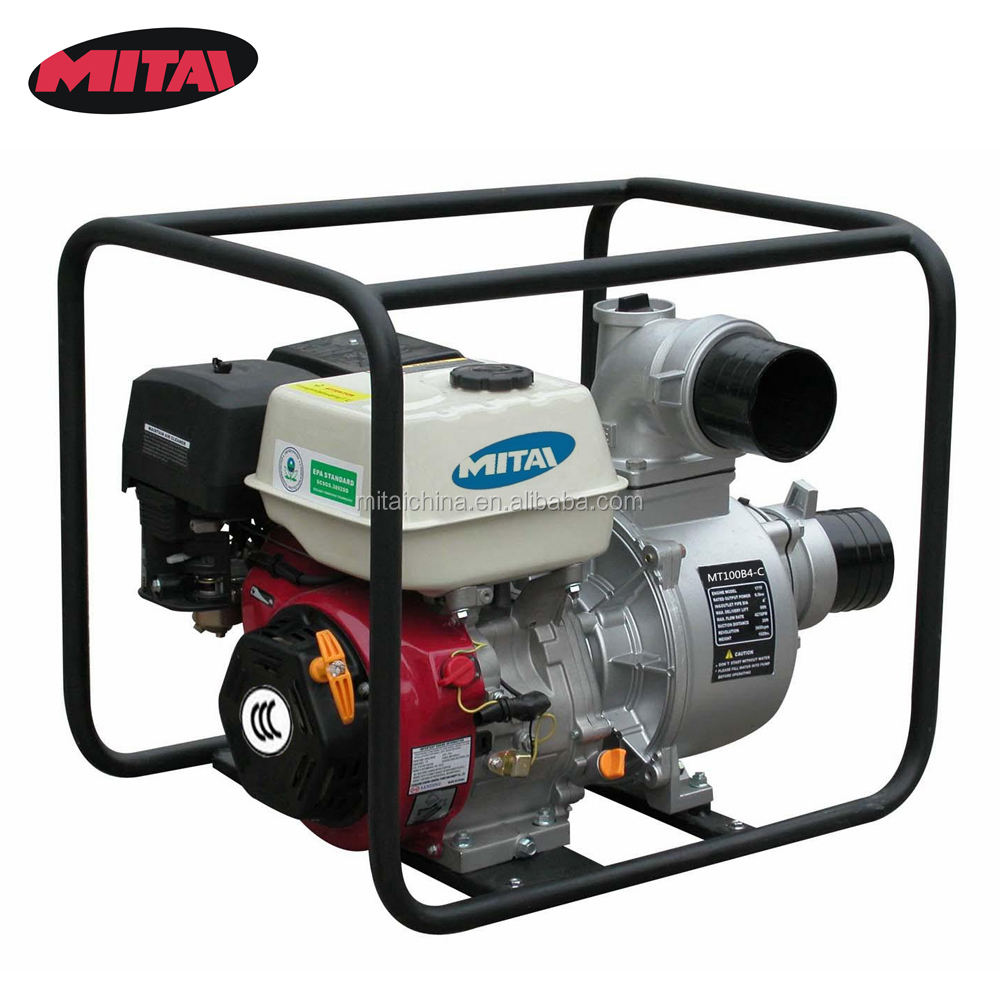 4 Inch Agricultural Irrigation Gasoline Water Pump for Sale