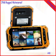 Best Price Land Rover A8 Android 4.2 IP68 Waterproof Mobile Phone Dual Sim Card