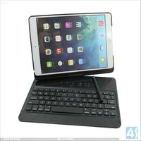 Alibaba china high quality light up rotating wireless mini laptop keyboard for iPad air