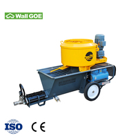 mortar plaster spraying machine,Cement Mortar Spraying Pump waterproofing painting Machine for wall