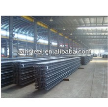 rebar lattice deck for concrete building