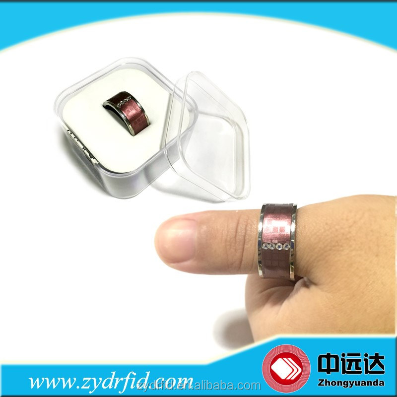 Hot selling rfid NFC ring for smart phone