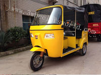 Bajaj three wheel motorcycle/ bajaj motor tricycle /scooter taxi