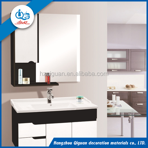 High quality made pvc bathroom vanity cabinet in china factory