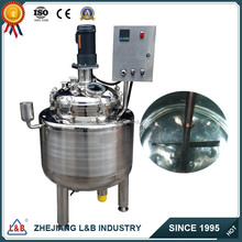 Vertical Stainless Steel Tanks, Cosmetic Mixing Tank, Liquid Soap Machine