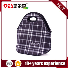 Customized neoprene lunch bag boxes cooler tote ice bag insulated