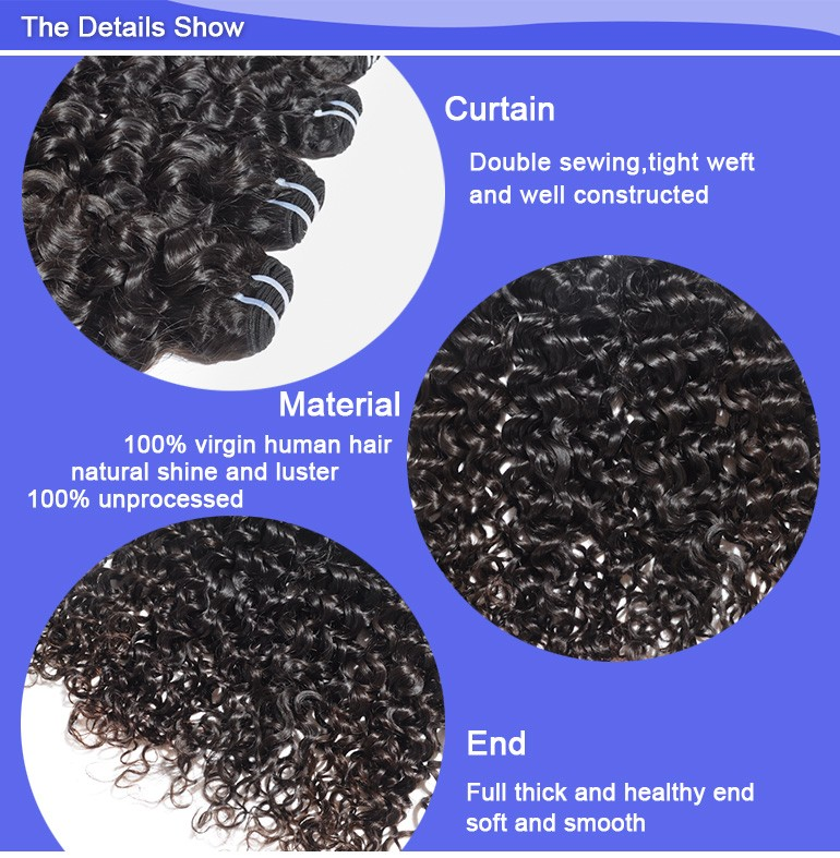 Befa Hair Hot Selling No Shedding No Tangle Curly Hair Extension For Black Women