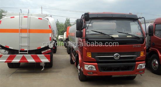 Dongfeng New Captain 4x2 8000kg chemical liquid tanker truck