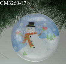 Snowman Artwork Christmas Hanging Ornaments