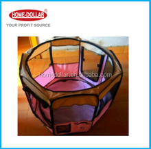 Folding Polyester Fabric Pet Playpen Dog Cat Puppy Play Pen