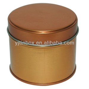 Beautiful Personality Round Min Tin Boxes for candle