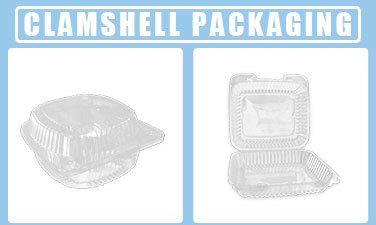 Lightweight clear disposable custom food sushi packaging box