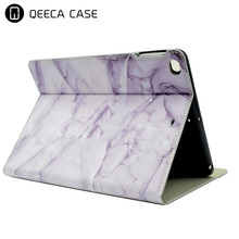 Slim Fit Folio Art Printed Flip PU Leather Stand Protective Case For iPad 2/3/4 Case Marble