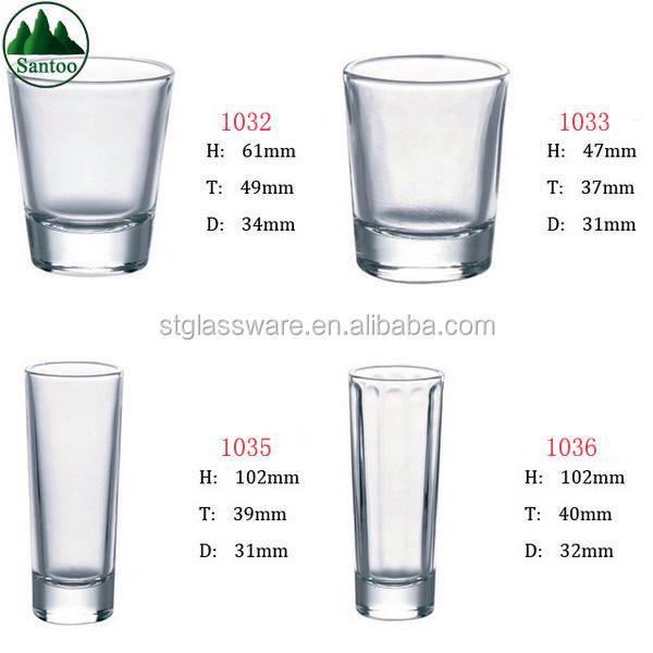 Shot glass ml