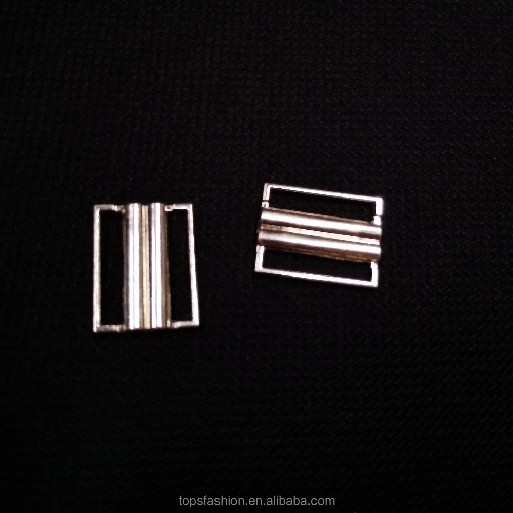 25mm20mm15mm zinc alloy metal bikini clips for fashion swimwear closure clasp
