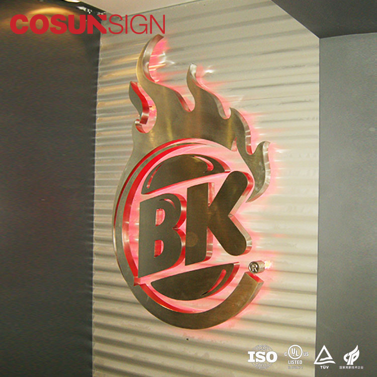 Factory Supply Led Sign Board Outdoor Light Shop Name LED Advertising Sign