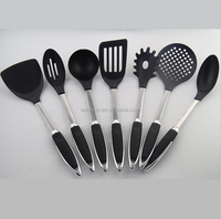 Nylon kitchen utensil Set Non Scratch Plastic Cooking Kitchen utensils