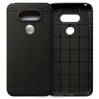 Newest Model Soft TPU honeycomb Dot view Back Cover for Lg g5 with poly bag Small Order Possible