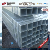 chinese galvanized steel square tube /pipe products for buildings materials