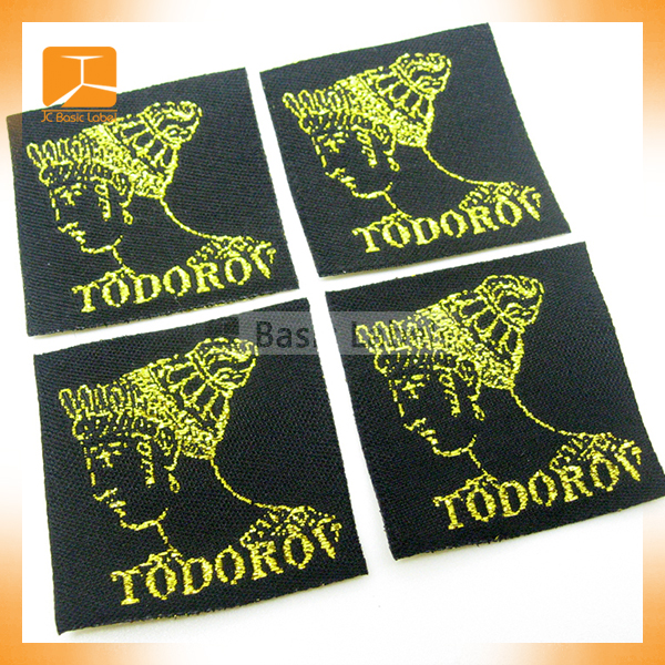 Embroidered sewing woven labels for women clothing