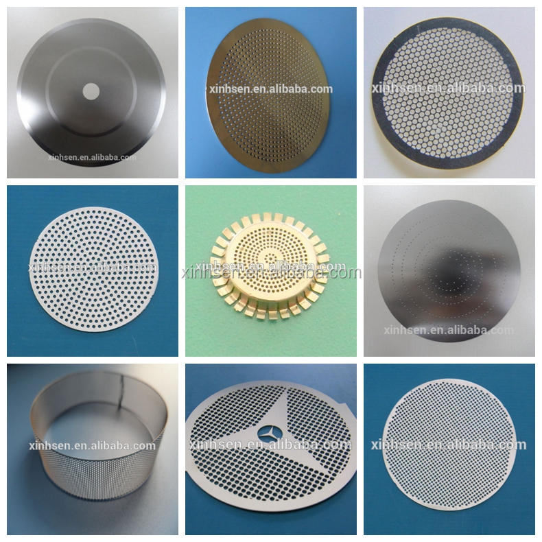 Free samples stainless steel etching filter mesh