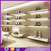 Professional mdf shoe rack designs wall wood showcase