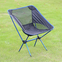 Outdoor furniture portable folding super light moon folding chair