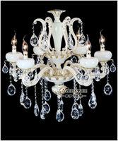 6 Lights Christmas Elegant Led Crystal Chandelier Hanging Lighting MD8784-6
